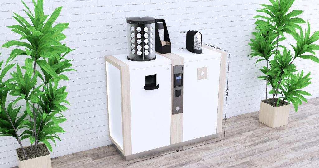 E-Coffee - Distributeur de capsules à café par E-thik